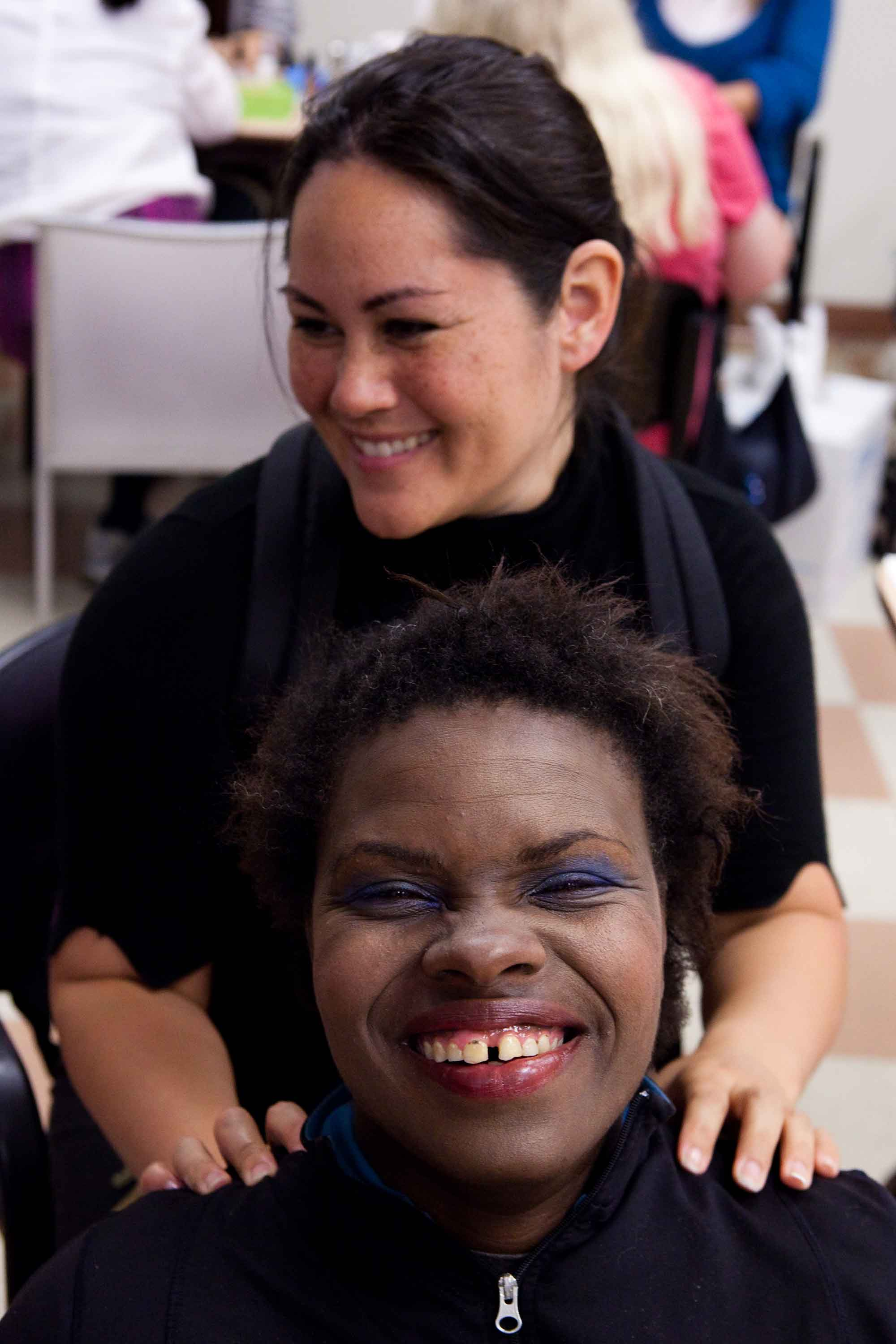 Beauty Night, Bringing Hope and Laughter to Women Shelters