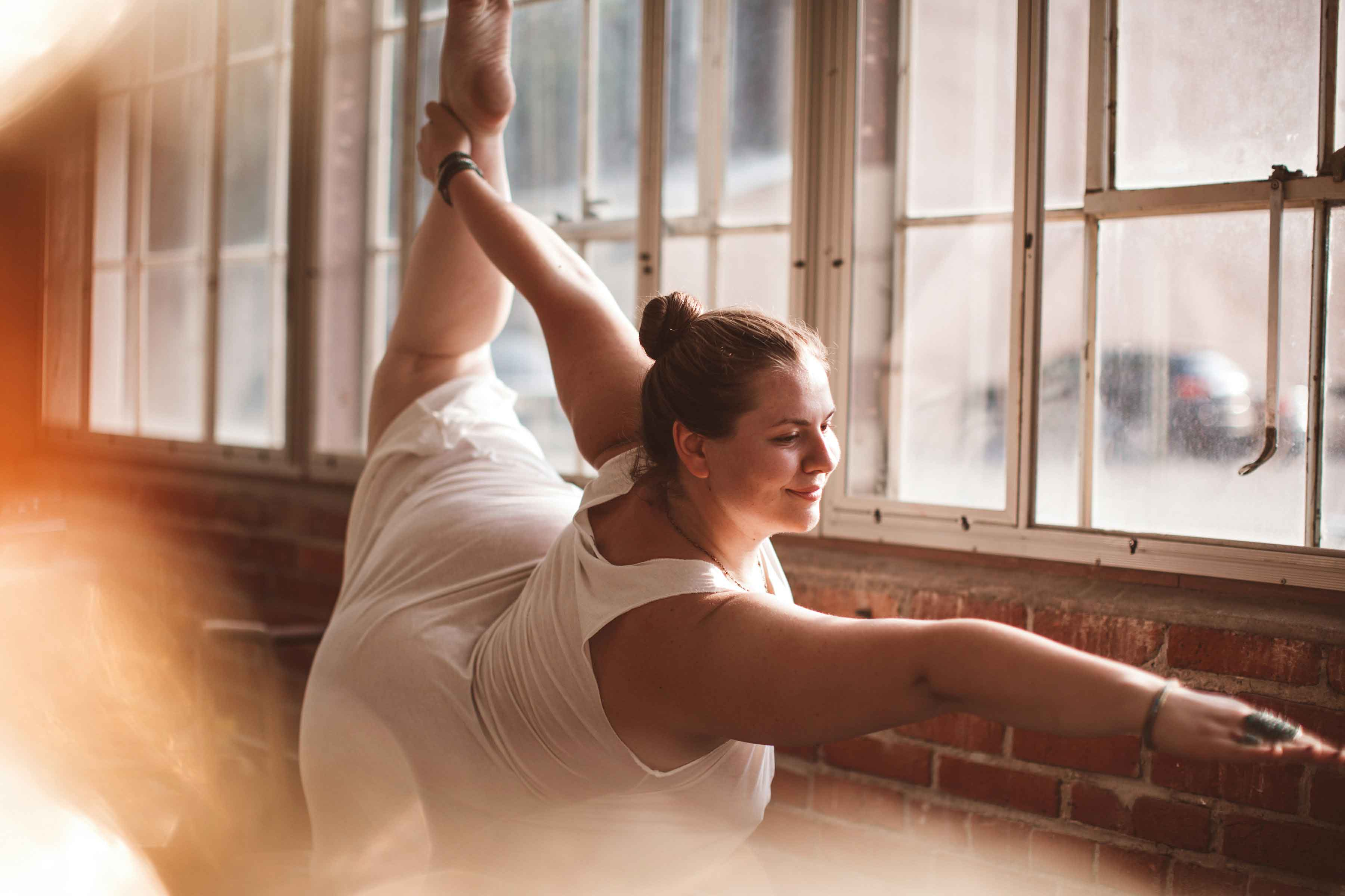 Plus Size Yoga Instructor Dana Falsetti