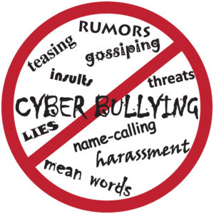 cyberbullying, rumors, mean words, name calling, harassment