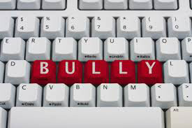 Keyboard with bully word