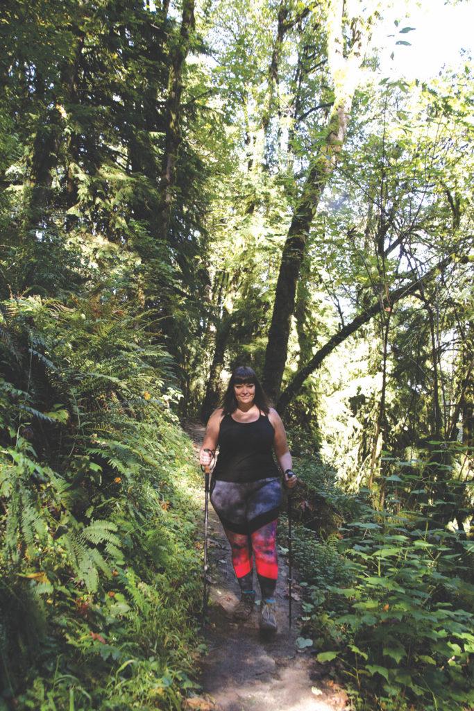 Plus Size Hiking