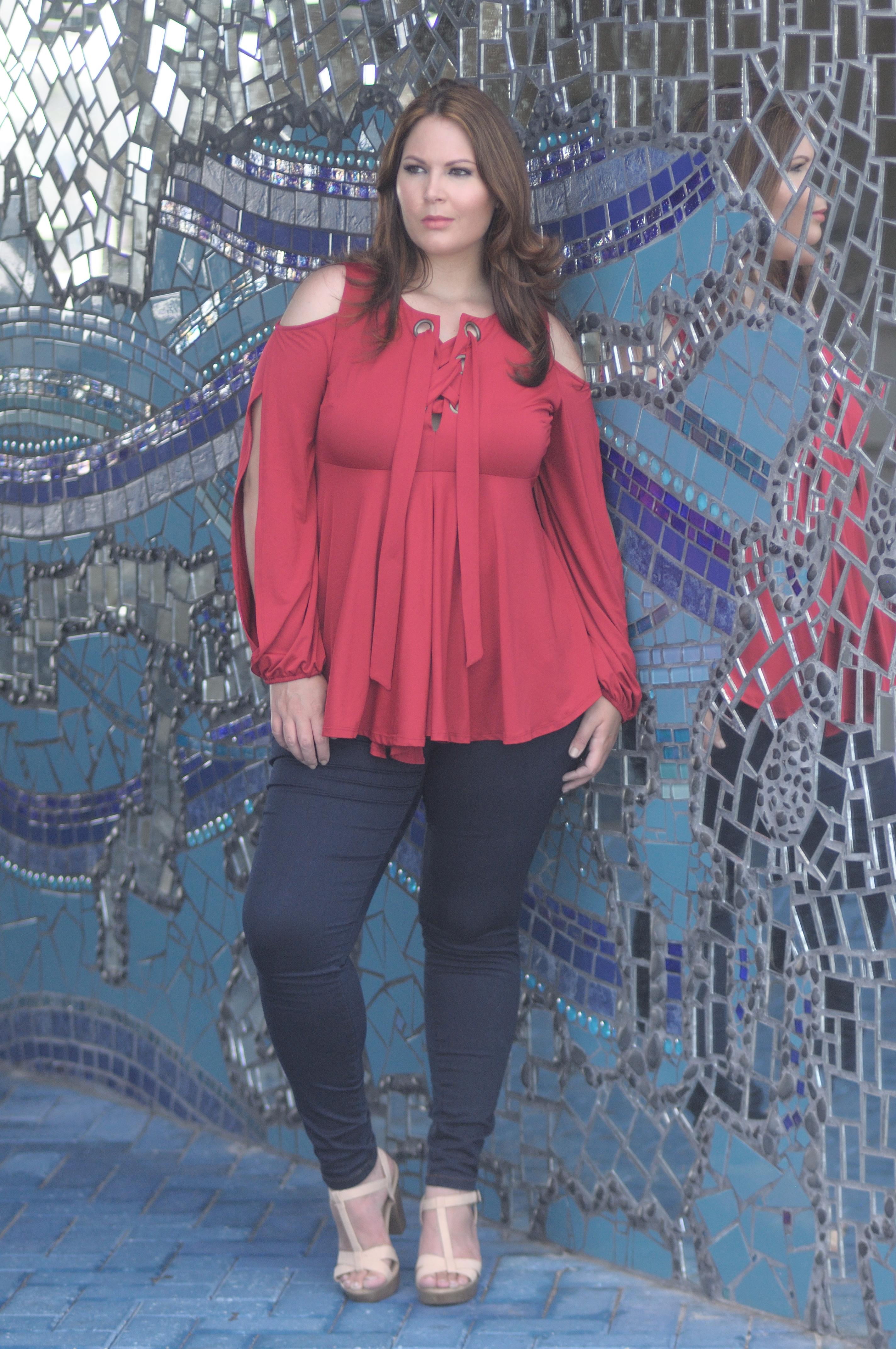 Dominican Designer Cenia Paredes launches the Cenia Convi Jean!