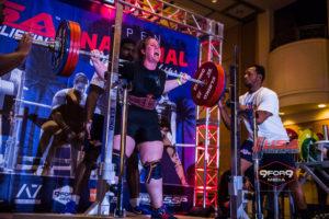 Rachel Denis Powerlifting