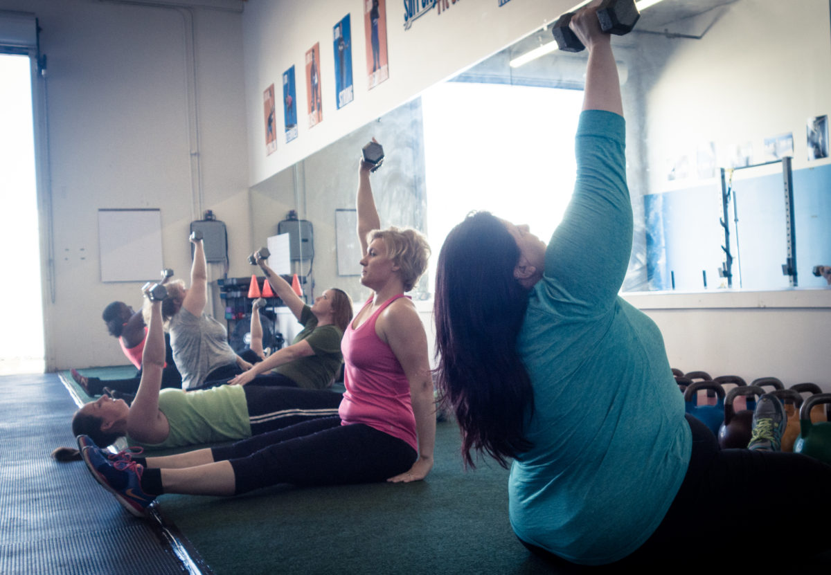 Fitness Friday – get up, get down!
