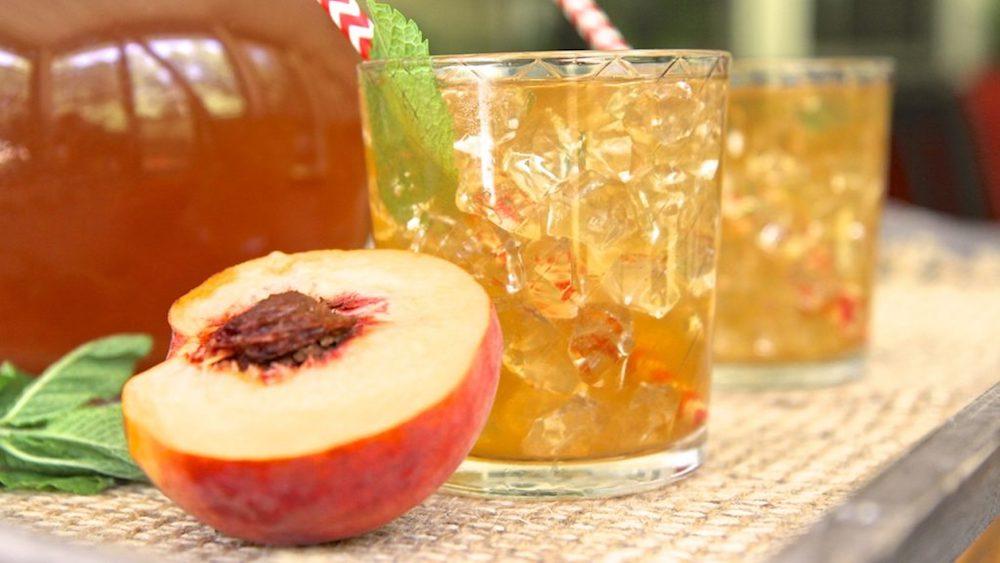 Peach Tea and Strawberry Refreshersby Iman Dubose