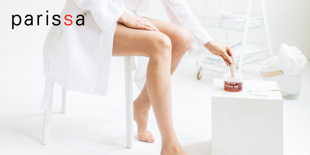 Parissa makes it easy to wax at home.
