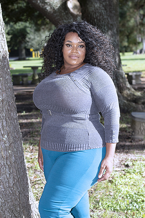 Plus Size Model Naava Ramirez