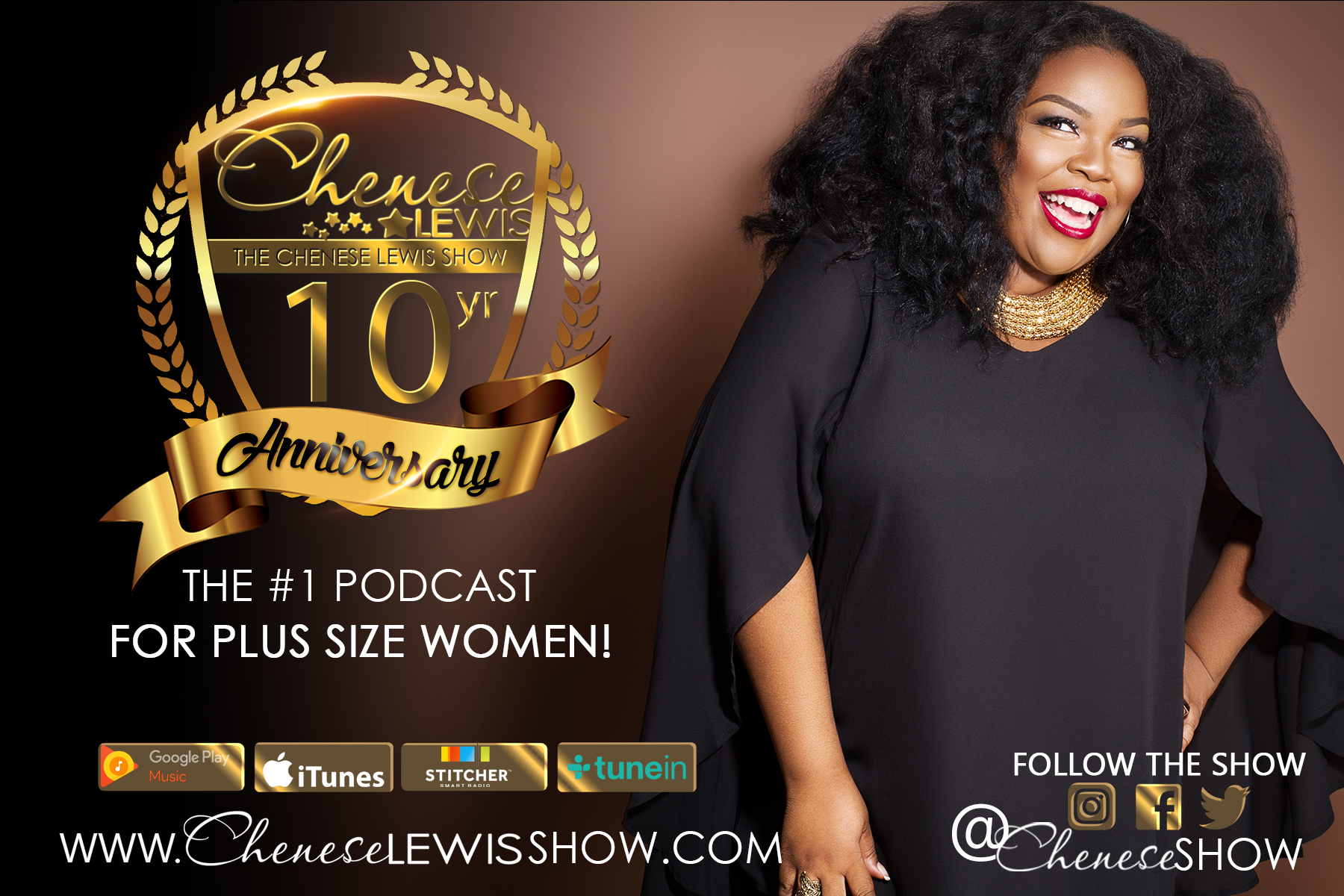 10 facts to know about Chenese Lewis, Plus Size Icon
