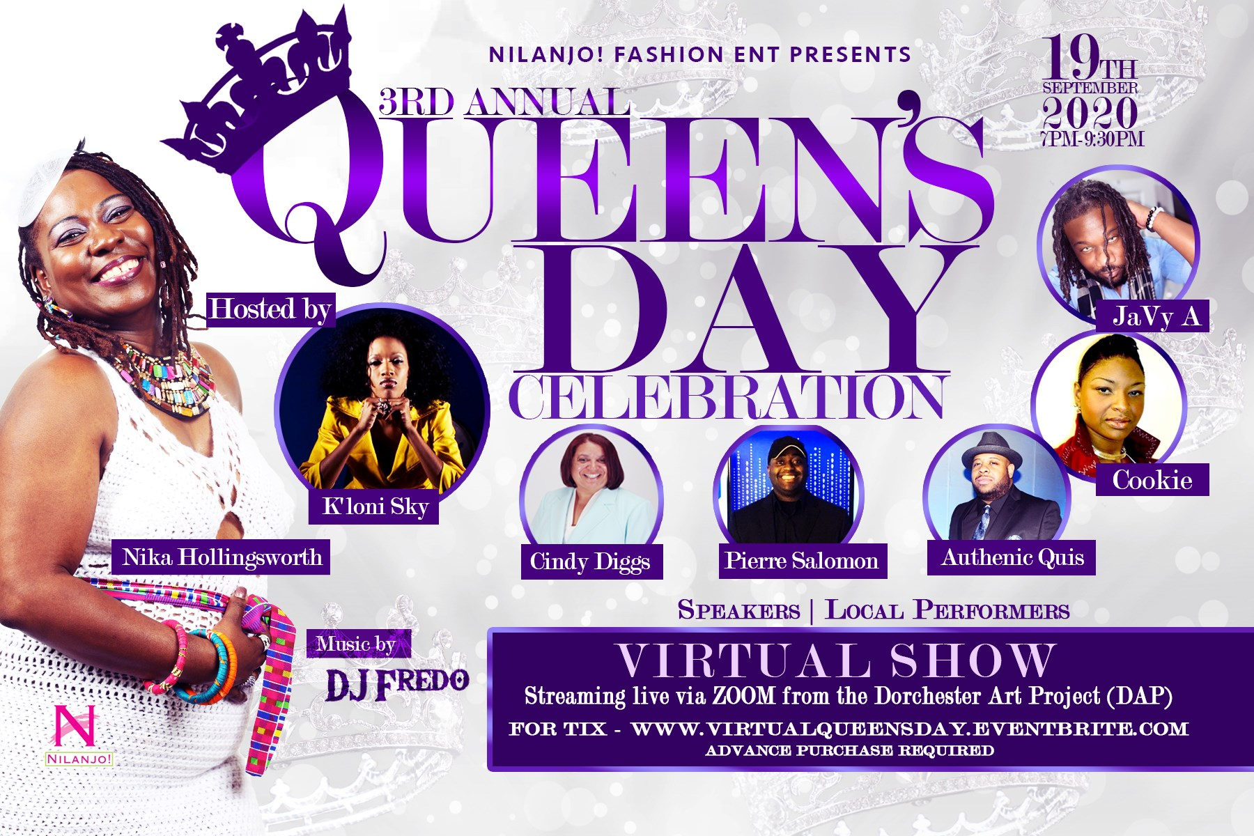 Calling all Queens; Time to Celebrate AND Elevate!